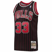 Scottie Pippen Chicago Bulls Mitchell & Ness NBA 95-96 Alt Swingman Jersey - Bla