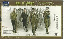 Riich Road To Victory WWII British Leader Figure Set in 1/35 023 ST
