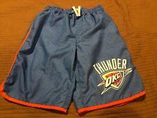 Oklahoma City Thunder Board Shorts Swim Nba Basketball Blue Boys Large 14/16