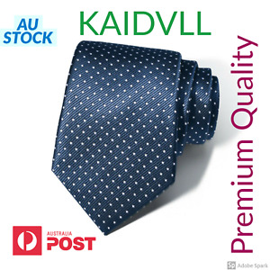 Mens Pattern Business Formal Ties Dotted Woven Silk 8.5 cm Necktie Pattern w bag