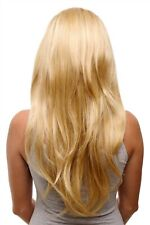 Clip-In Hair Piece 7 Clips half Wig Extension Gold-Blonde Light 60cm H9505-611B