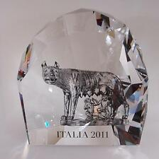 cristallo SWAROVSKI LA LUPA 1145684 wolf limited edition num. 1744/3000 crystal