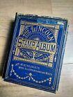 Vintage Lincoln World Stamp Album - Victorian era onwards inc Penny Black