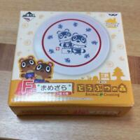 Bandai Animal Crossing Ichiban Kuji Mamezara Mini Plate NEW Prize F / S Japan