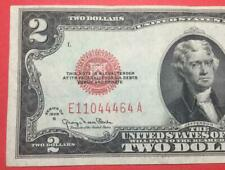1928G $2 RED US Deuce Choice Crisp VF! X464 Old US Paper Money Currency!