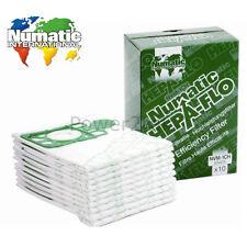 10 x Genuine Numatic NVM-1CH Hoover Dust Bags for NQS250B NQS250B-22 NRV200 UK