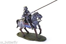 Soldier Mounted Knight with with Lance 1/32 Toy soldier Handmade Painted