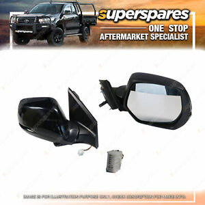 Left Electric Door Mirror 7 pins for Honda Cr-V RM With Light Heated
