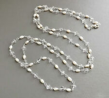 Strand/String Pearl Handmade Costume Necklaces & Pendants