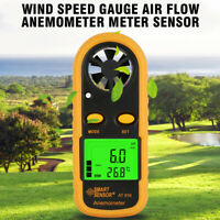 Wind Speed Gauge Air Flow Anemometer Meter Sensor AR816+ Measuring Instrument CY