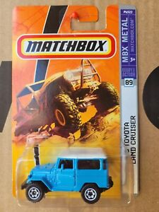 Matchbox 2007 - '68 Toyota Landcruiser FJ40 [LIGHT BLUE] VHTF NEAR MINT