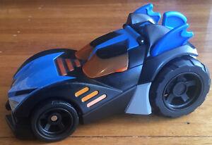 Imaginext DC Super Friends Batman Batmobile Lights Up and makes Noises!