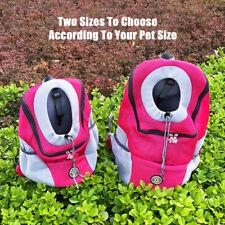 Pet Dog Carrier Backpack Travel Mesh Front Portable Small Medium Shoulder Bags