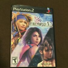 Sony PlayStation PS2 Video Game FFX-2 Final Fantasy X-2 Rated T