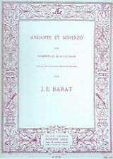 Jacques Edouard Barat: Andante et Scherzo (Trumpet & Piano) AL21324