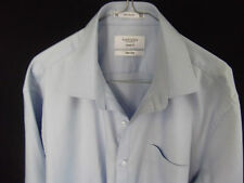 VAN HEUSEN Mens Long Sleeve Business Shirt Classic Fit Neck 42 Sleeve 86
