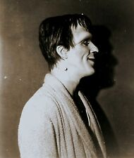 RARE STILL  FRED GWYNNE AS FRANKENSTEIN  THE MUNSTERS MAKEUP TEST