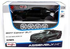 Maisto 1 24 2017 Chevrolet Camaro Zl1 Assembly Line DIY Diecast Model Car Toy Ne
