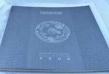 Panerai catalogo catalogue 2009 Grande Versione