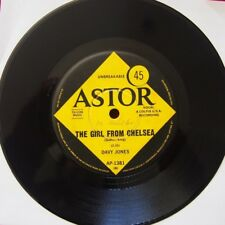 Single - Davy Jones – Theme For A New Love (I Saw You Only Once) - 1967  Astor