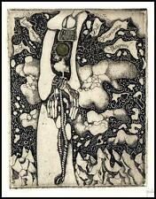 Didelyte Grazina C3 Exlibris Bookplate Fantasy Abstraction Hand 1333