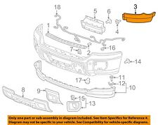 GMC GM OEM 15-18 Sierra 2500 HD Front Bumper-Outer Filler Right 23481685