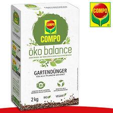 COMPO 2 kg öko balance Gartendünger | Bio | Vegan Pflege Nährstoffe Wachstum