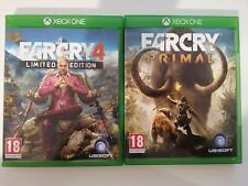 Farcry Primal and Farcry 4(Microsoft Xbox One)