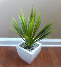 "12"" Artificial Aloe Bush Gladiolus Succulents Plants Home Garden Grass"