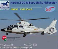 Bronco 1/350th Scale Harbin Z-9C Military Utility Helicopter Kit No. NB5047