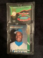 MARLINS 1993 TOPPS TEAM SET PREMIERE EDITION SEALED PACK