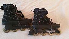 Men's Rollerblade Cy 33 Black Softboot Inline Skates Size 13