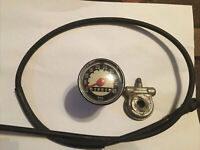 1964 Puch Sears Allstate DS60 Compact Scooter Speedometer Guage Assembly