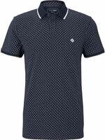 Tom Tailor Denim Herren Poloshirt mit Punkten Baumwolle Regular S M L XL XXL NEU