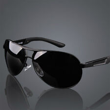 Men's Retro HD Polarized Sunglasses Pilot Metal Outdoor Driving Eyewear Glasses