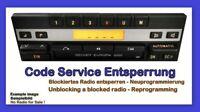 Code Service Becker Europa 2000 BE1100 1105 11.. Entsperrung Neuprogrammierung