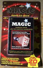 Magic Playing Cards Trick Set Marked Deck