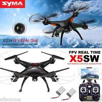 Syma X5SW X12S Explorers-II FPV 2.4Ghz RC Quadcopter 2MP Wifi Camera   2 Battery