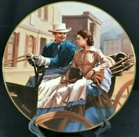 """THE BUGGY RIDE"" Gone With the Wind by JENNIS a W.L.GEORGE-  Plate # 12144B"