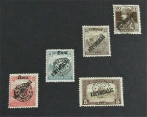 nystamps Hungary Stamp # 6N33//6N41 Mint OG H $32   L23y374
