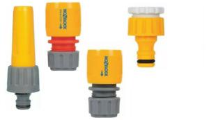 Garden Hose Attachments Hozelock Nozzle, Tap End, Water Stop Connector, kit 2355