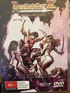 Deathstalker 4 DVD WV0 In warmer times people wore less... RARE sword/sorcery