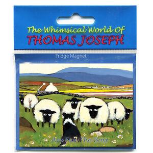 Thomas Joseph TJMAG143 Fridge Magnet Are Ewe the Boss Sheep Dog