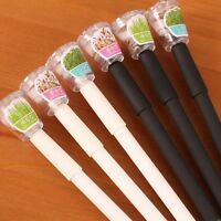 Creative Cultivate Plant Gel Pen Garden Grow Grass Pens Kids Stationery Gift