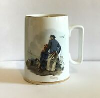Norman Rockwell Museum Collectible Coffee Mug Cup Looking Out to Sea 1985