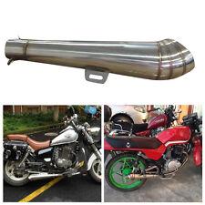 Stainless steel 38-51mm Motorcycle GP Slip-On Exhaust Muffler Silencer Pipe