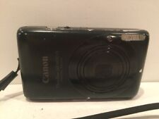 Canon PowerShot SD1400 is 14.1MP Digital ELPH Digital Camera Black TESTED