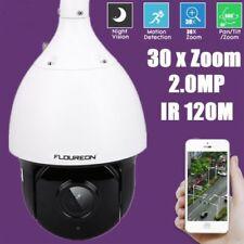 FLOUREON 30X Zoom 1080P HD 2.0MP Outdoor PTZ IP Speed Dome Camera CCTV Security