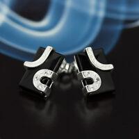 Onyx Silber 925 Ohrringe Damen Schmuck Sterlingsilber S304