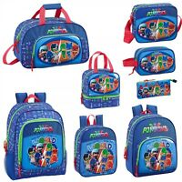 PJ Masks WORLD Boys Girls Backpack Lunch Bag Rucksack Travel Nursery School Bag